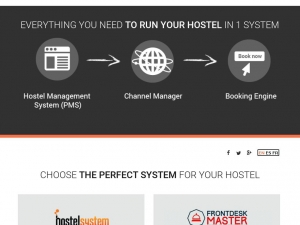 Professional IT systems for hostels